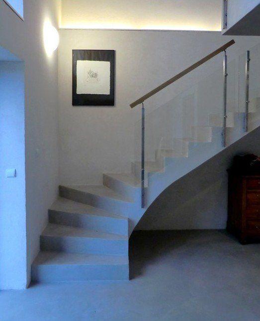 Escalier quart tournant - Informations sur les formes d'escaliers