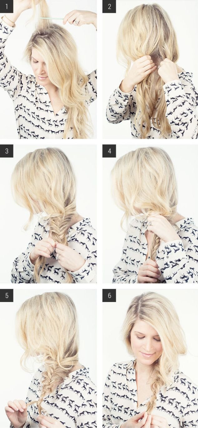 113 best easy hairstyles for long hair images on pinterest