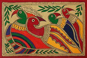 Birds Of A Feather Print by Neha Dasgupta