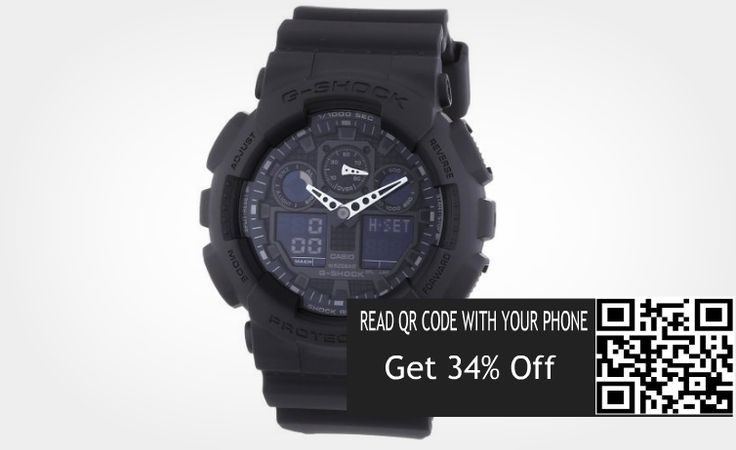 Save Online Now: Save 34% On G-Shock  Men's Quartz Watch with Analo...