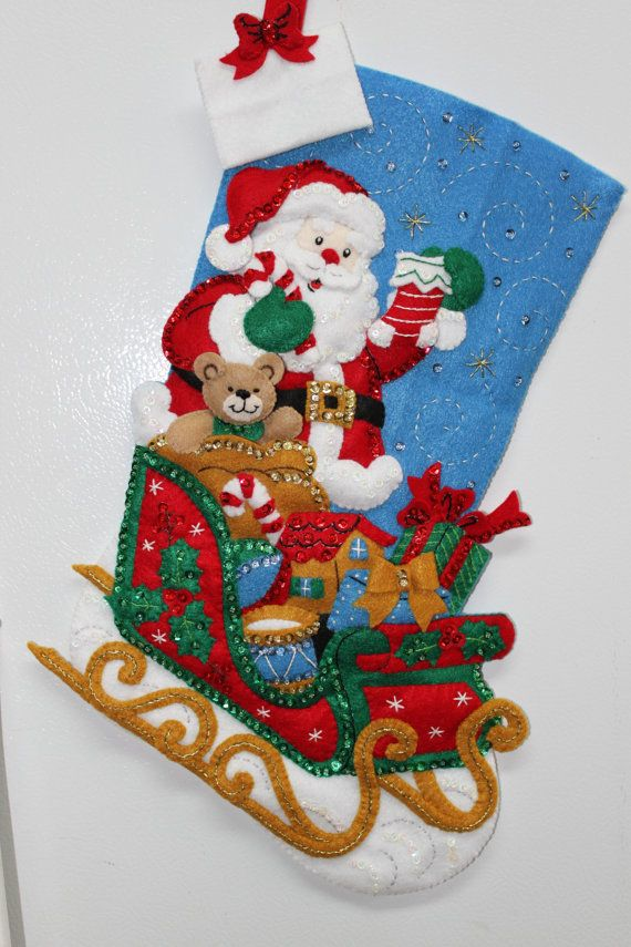 18 Completed Hand Sewn Bucilla Christmas by StacysStampinSpot, $95.00