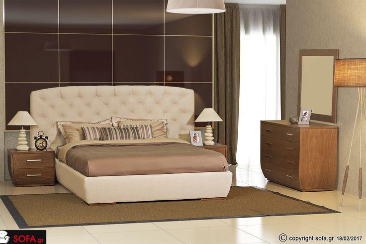 Κρεβατοκάμαρα Βερόνα  Κλασική κρεβατοκάμαρα με ξεχωριστό σχεδιασμό, ιδιαίτερα  κομοδίνα και τουαλέτα.  #Sofagr #Σχέδιο #Σχεδίαση #Έπιπλο #Μοντέρνο #στυλ #furniture #Δωμάτια #Σπίτι #Διακόσμηση #ανακαίνιση #χρώματα #epiplo #decoration #futuristic #style #home #ideas #καναπές #instagram  #gallery #photos  #κρεβατοκάμαρες #τραπεζάκια #μπουφέδες #τραπεζαρίες #συνθέσεις #lovedecor #sofa #greece