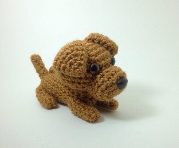 Rhodesian Ridgeback Amigurumi Dog Crochet Puppy by Inugurumi, $29.00