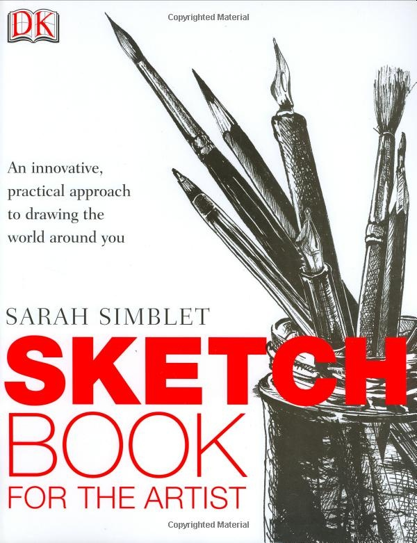 Every time I open Sketchbook for the Artist, it sends me running for my nearest sketchbook and pencil. This is a truly inspirational book that will keep you interested in and thinking about drawing.