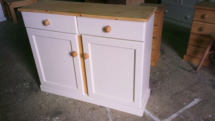 Handmade and hand painted dresser base: http://www.pinewelshdressers.co.uk/