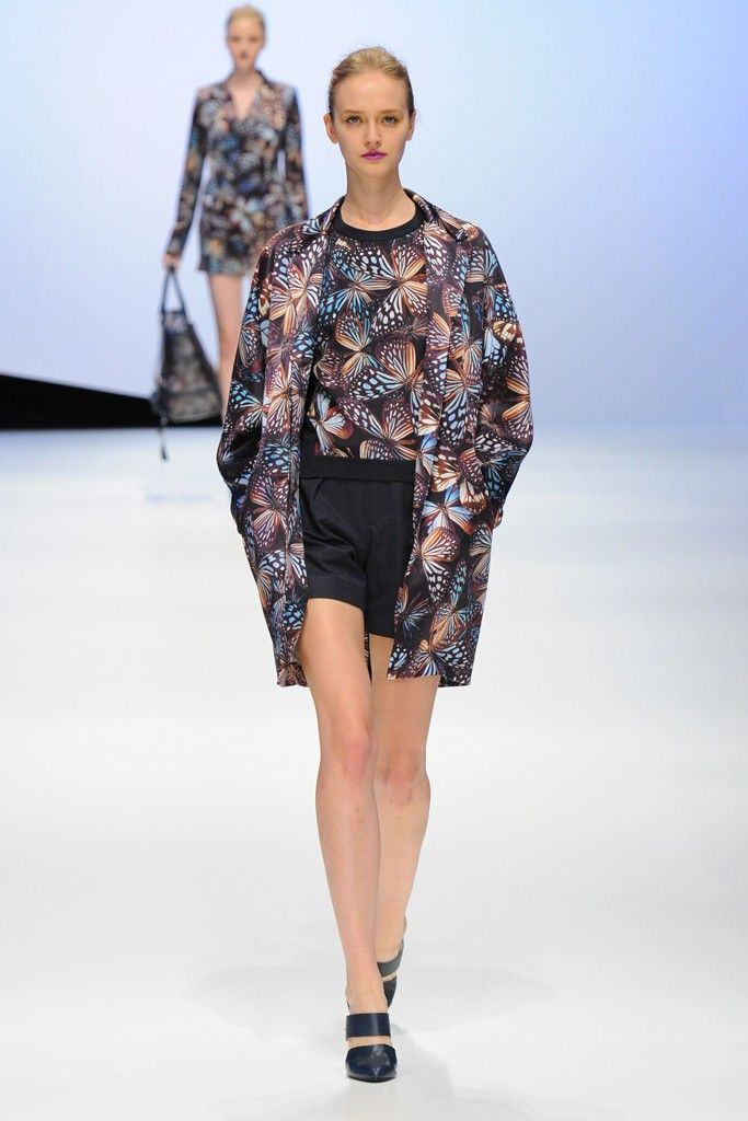 Hanae Mori by Yu Amatsu RTW Spring 2015