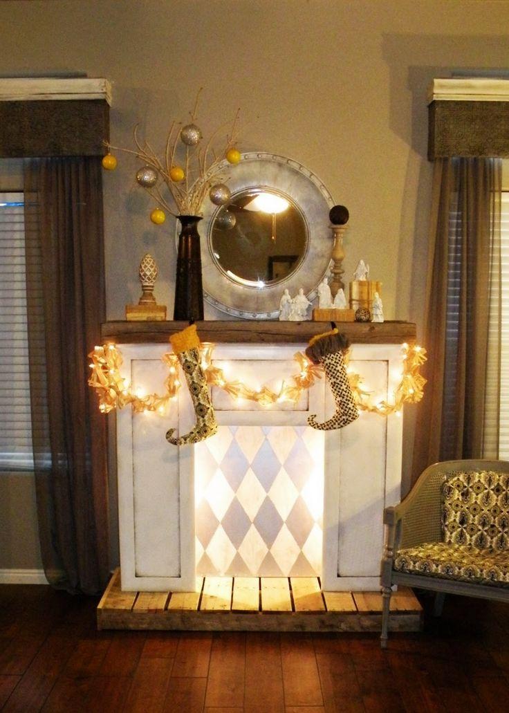DIY Faux Fireplace | Vintage Revivals