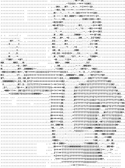 One Line Ascii Art Rose : Ascii art generator bing images