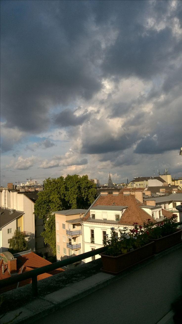 #afterrain #budapest #boulevardcityhu #terrace