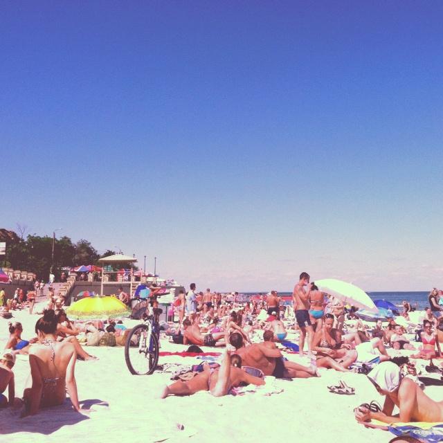 Beach @ the Black Sea - Odessa, Ukraine