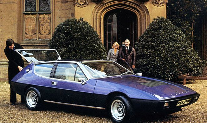 Lotus Elite – 1974 – 1982. Can you imagine being wowed by this car upon its release?