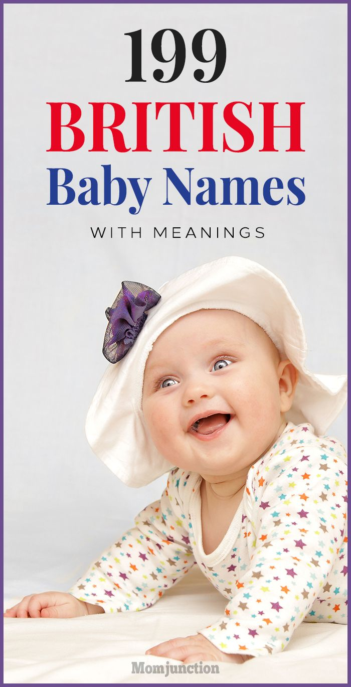 British celebrity baby names 2019