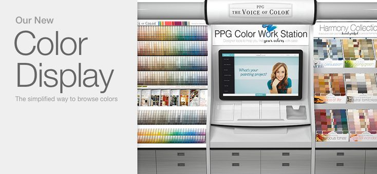 PPG The Voice of Color Digital Kiosk