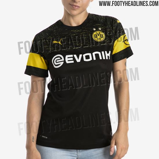 c3d68f8568f OFFICIAL Pictures  Borussia Dortmund 18-19 Away Kit Leaked - Footy Headlines