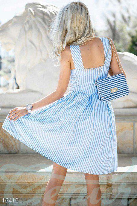 Изящное летнее платье 16410 фото 3