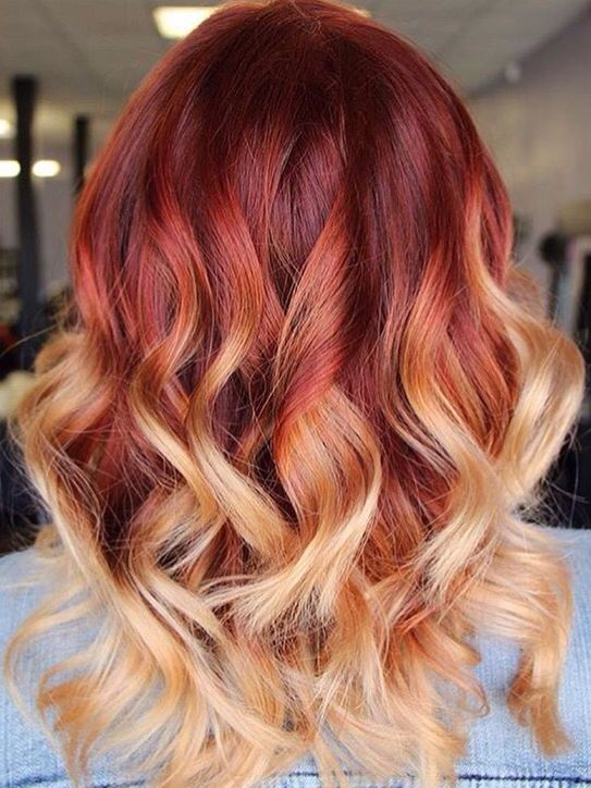 25 Best Ideas About Fire Hair On Pinterest Fire Red