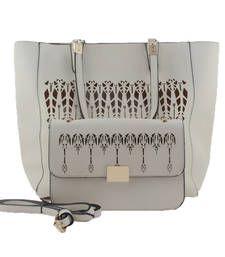 Buy Beige fashion tote bag tote-bag online