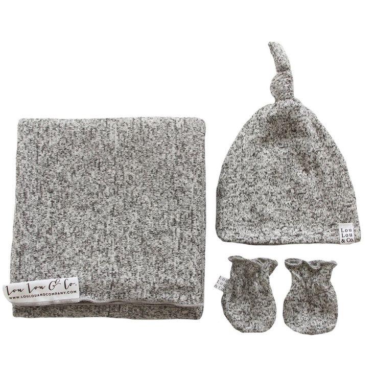 Sam Essential Newborn Bundle (Top Knot Hat)