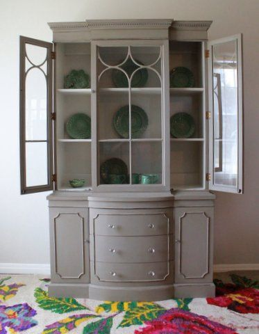 Vintage Duncan Phyfe China Cabinet by Nodtothepast on Etsy