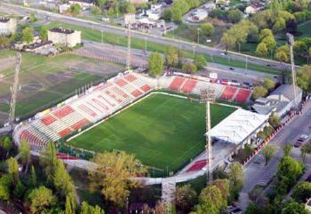 stadium in Lodz