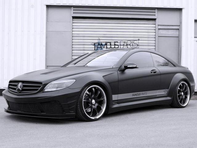 Mercedes CL500 by Famous Parts