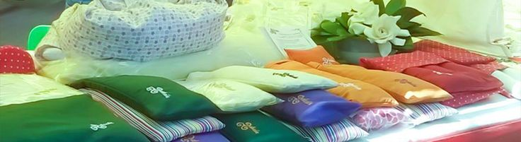 Almohaditas térmicas Frio - calor de Semillas de lino y flores de lavanda Feria de Honduras y Thames - Palermo - Bs As