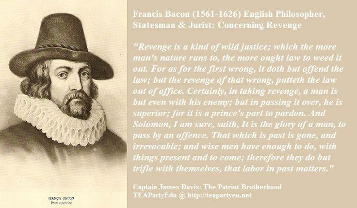 Bacon essay of revenge