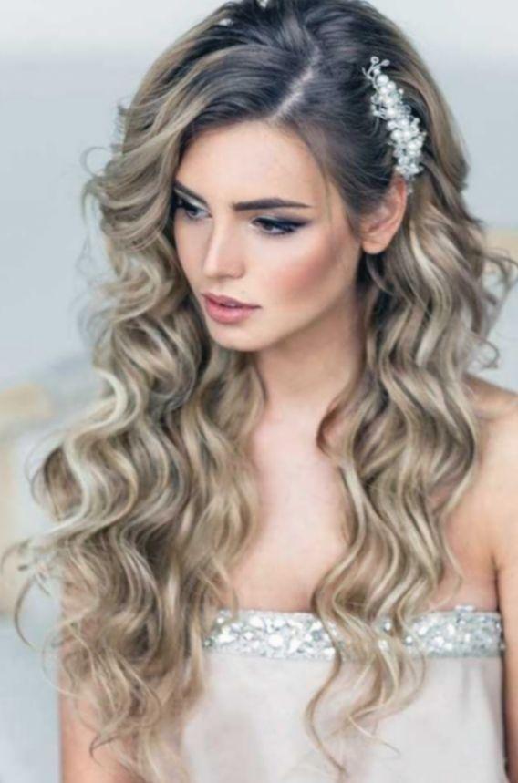 Hairstyles Wedding Braid Loose Hair #media #mpobedinskaya #Hairstyles