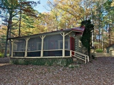 12 best images about great brown county cabins on for Vacation log homes