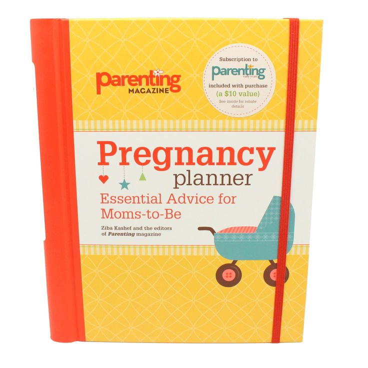 This is the perfect planner for first time moms-to-be. Full of advice along with room to record detail and thoughts of your pregnancy. It is designed by the pregnancy and baby experts at Parenting Mag