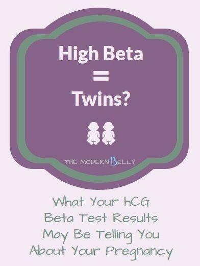 Do High Beta hCG Levels Mean You're Having Twins | All ...