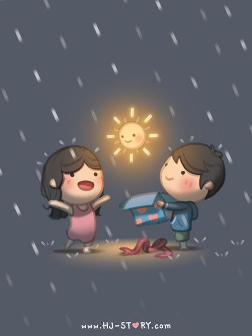 """Check out the comic """"HJ-Story :: Love is... sunshine on a rainy day"""" http://tapastic.com/episode/6740"""