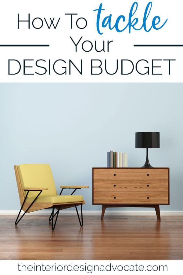 How to Tackle Your Design Budget