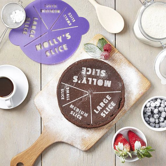 SophiaVictoriaJoy's etsy store has many different personalized cake stencils.  This is my favorite. Might as well put it in writing.