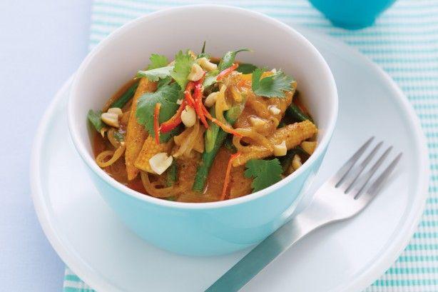 Masaman pumpkin & green bean curry main image