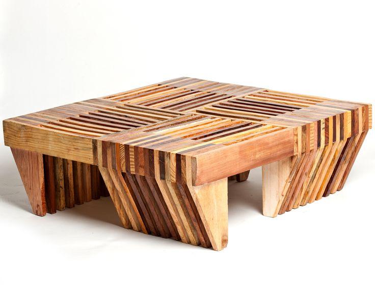 Les 388 meilleures images du tableau table basse sur - Pied bois oblique ...