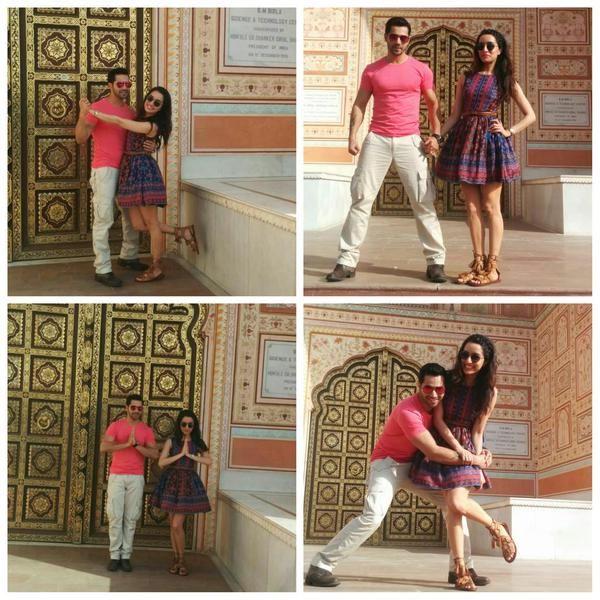 Shraddha Kapoor and Varun Dhawan #ABCD2