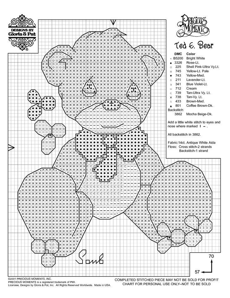 Free printable cross stitch patterns needlework projects for Cross stitch patterns free printable