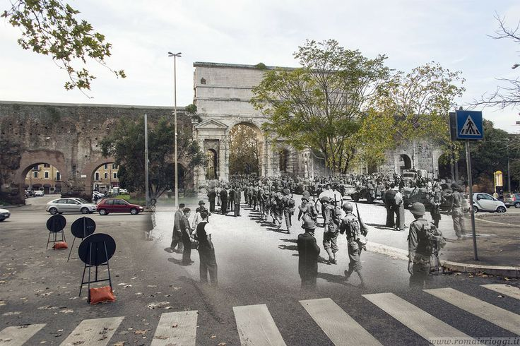 L'ingresso degli #alleati a #PortaMaggiore http://www.romaierioggi.it/lingresso-degli-alleati-a-porta-maggiore/