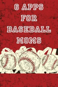 6 Apps for Baseball Moms :: Great Guide for apps to use during the baseball season! #VZWBuzz AD