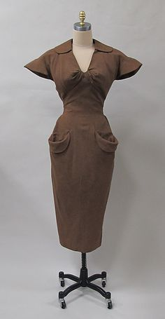 1952-54 Charles James | Dress | American | The Metropolitan Museum of Art