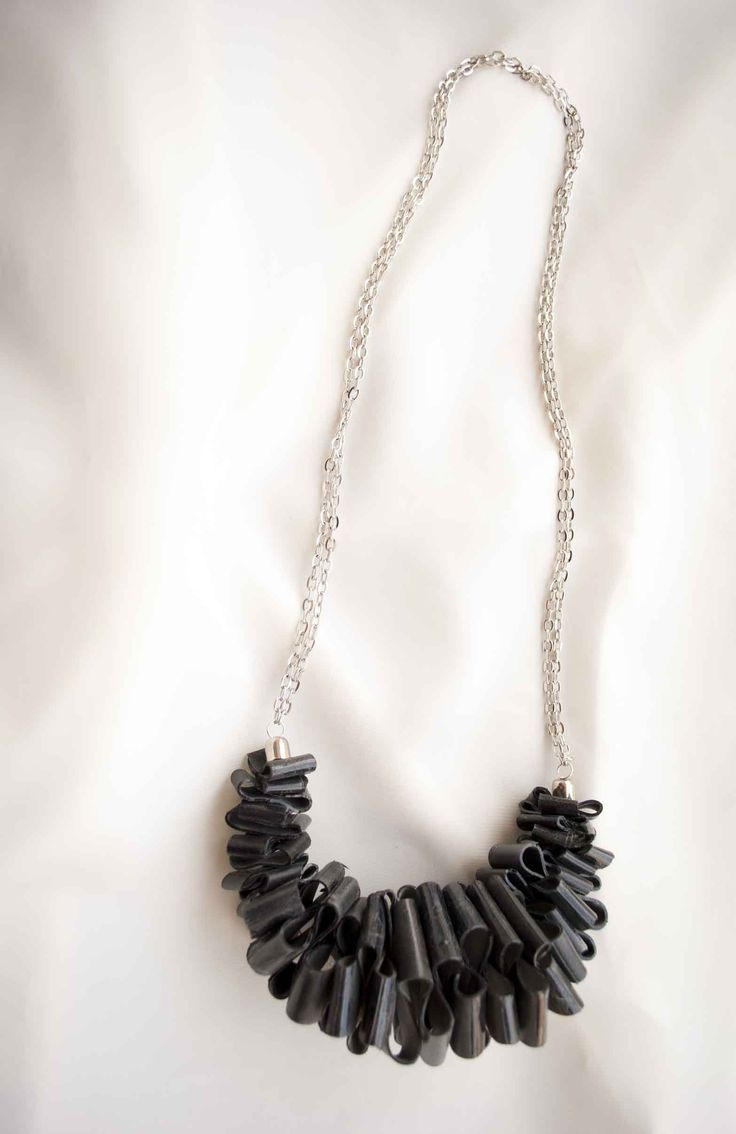 Inner tube necklace/ Ursula