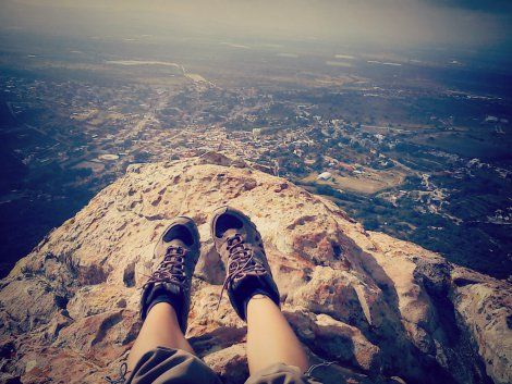 Espero en la montaña...