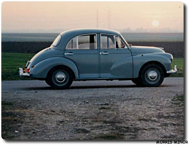 I love Morris Minor's. I've always wanted one!