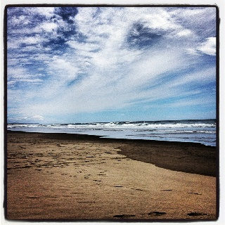 Florence Beach - Oregon ~ NE Montgomery