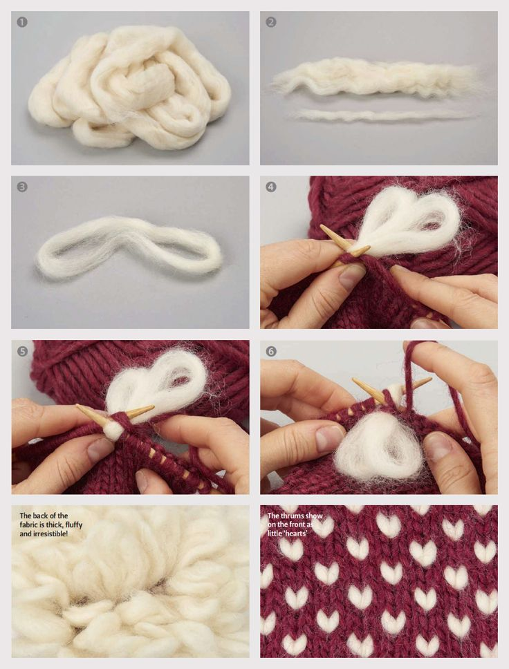 Midweek Masterclass : Knitting with thrums - Thrums steps