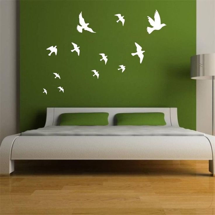 Flying Birds Removable Wall Decal – GetheBuzz