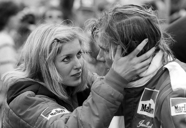 James Hunt & Suzy Hunt. (Suzy was portrayed by Olivia Wilde in the film)