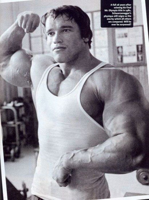 The Arnold Schwarzenegger workout routine: How bodybuilding's greatest legend gained over 50lb of muscle in 90 days to win the 1975 Mr. Olympia contest.