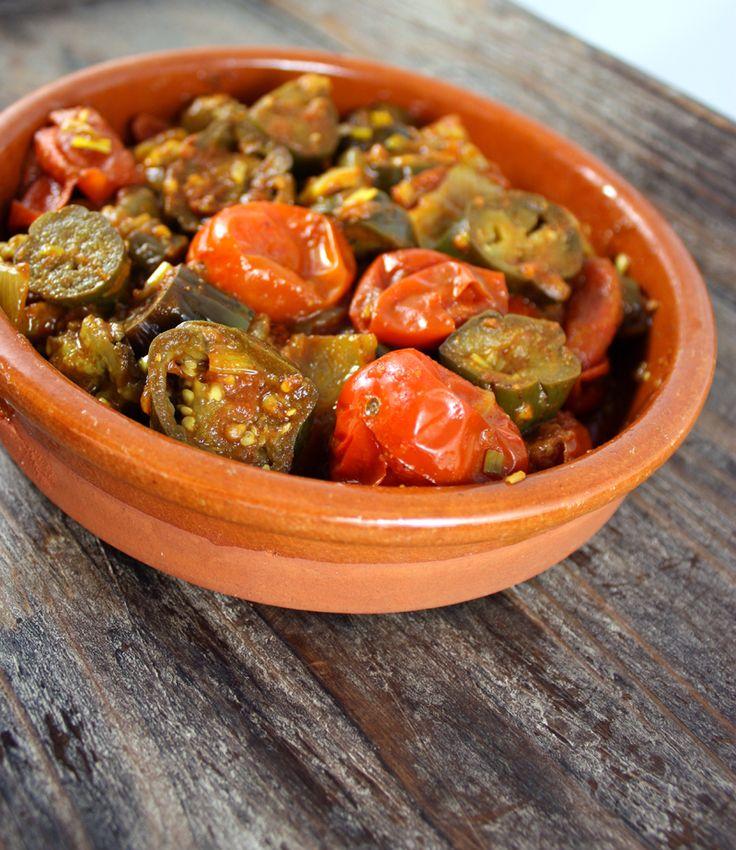 Oppskrift Auberginegryte Mini Aubergine Indisk Gryterett Vegetar